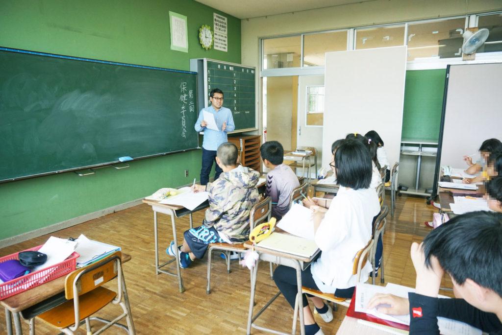沼津市立沢田小学校 第2回保健委員会