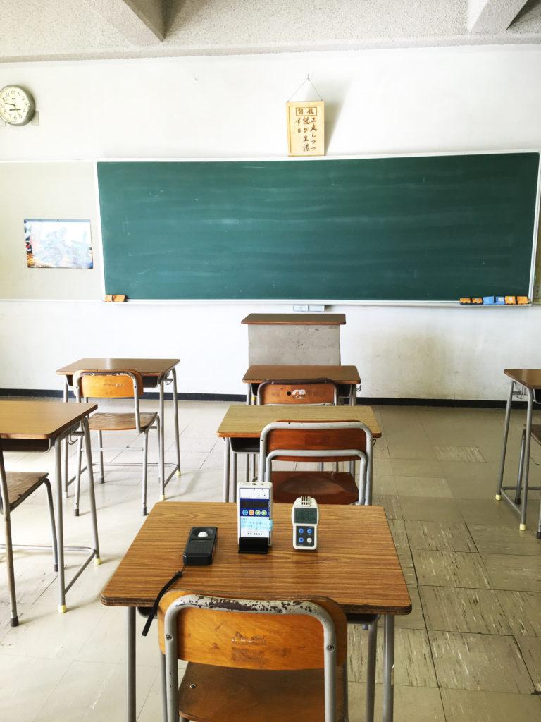 平成30年10月18日 飛龍高等学校 環境衛生定期検査